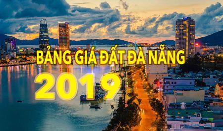 Bảng giá đất Đà Nẵng 2019