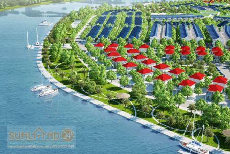 Biệt thự triệu phú Khu đô thị sinh thái Hòa Xuân - Euro Village 2